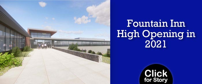 Fountain Inn High Opening in 2021