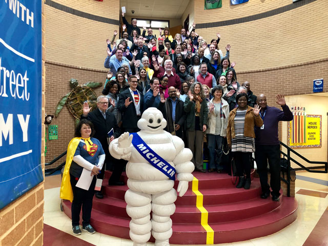 Greenville County Schools Recognizes Michelin North America as Inaugural Partner of the Year