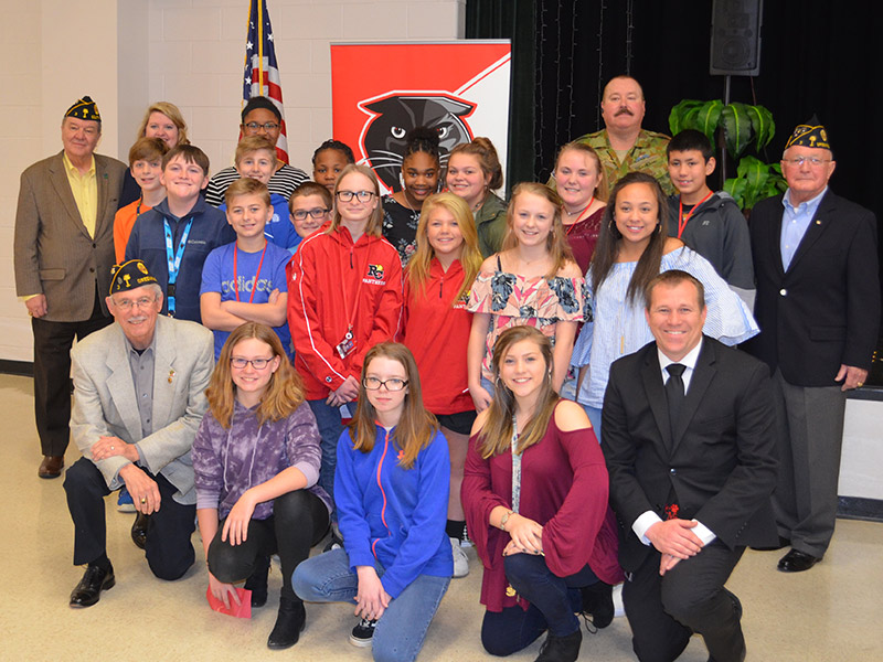 Ralph Chandler Students, Staff, and Veterans
