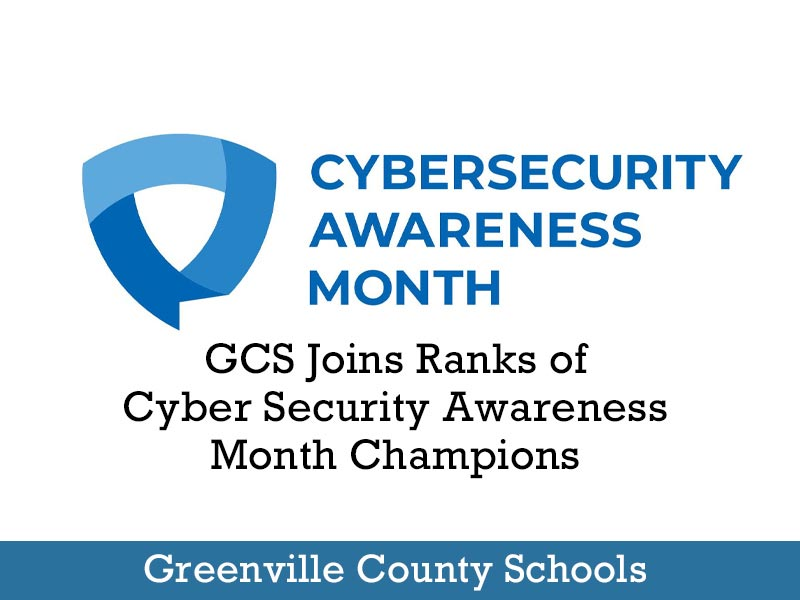 GCS Joins Ranks of Cyber Security Awareness Month Champions