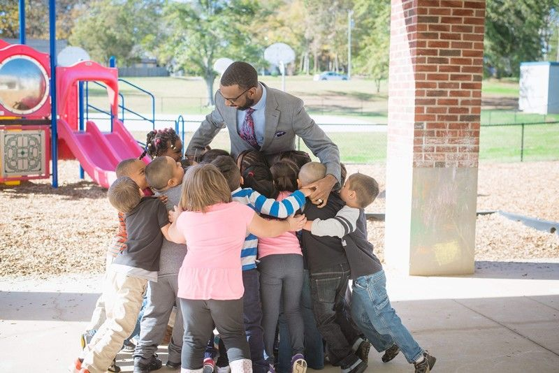 Mr. Qualls, principal at Monaview Elementary School, discovered his passion for education through Clemson's Call Me MISTER program, in which he participated while attending Benedict College as an elementary education major.
