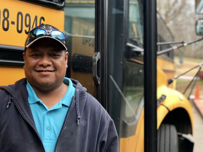 Urbanno Keremius is a first year driver.  He moved to South Carolina from Guam to give his children the American Dream.  He enjoys the hours, the benefits and working with students.