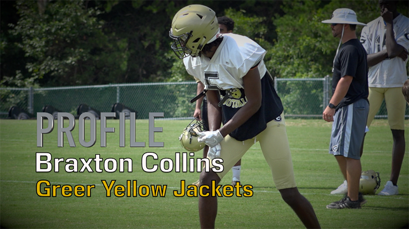 Profile: Braxton Collins, Greer Yellow Jackets