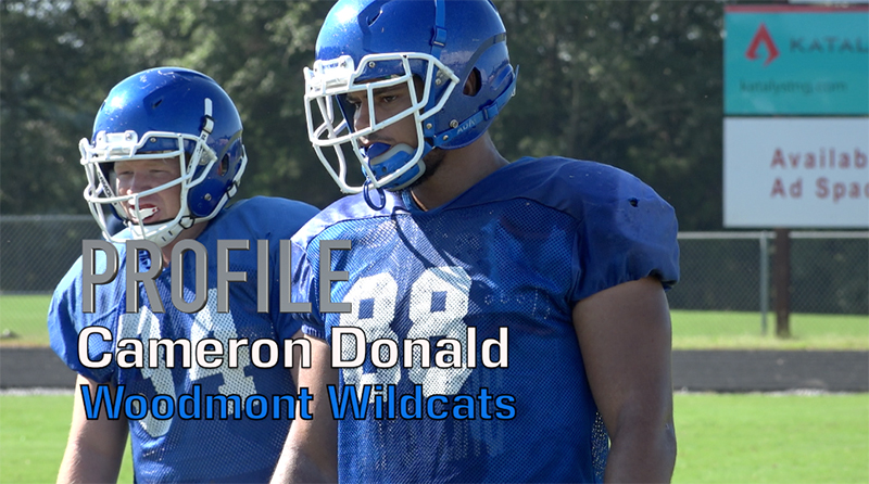 Profile: Cameron Donald, Woodmont Wildcats