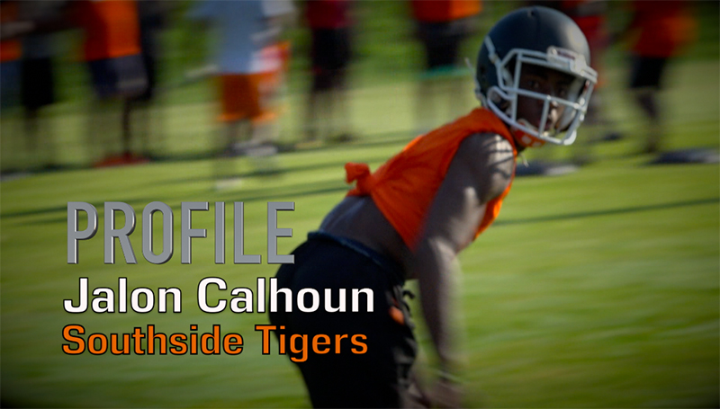Profile: Jalon Calhoun, Southside Tigers Football