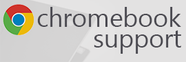Chromebook Support banner