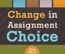 Change in Assignment Choice