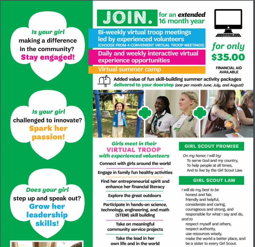 Girl Scout Flyer Part 1