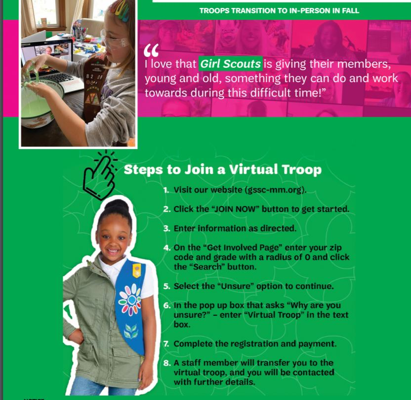 Girl Scout Flyer Part 2