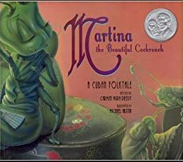 Martina the Beautiful Cockroach book cover